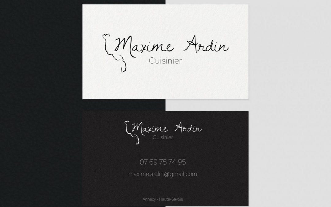 Chef Maxime Ardin